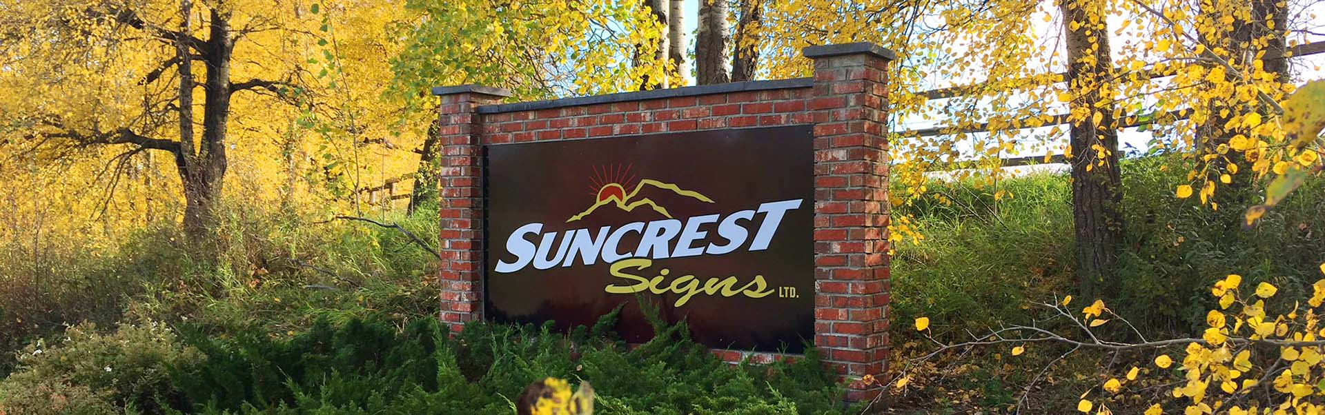Suncrest Signs - Grande Prairie Alberta